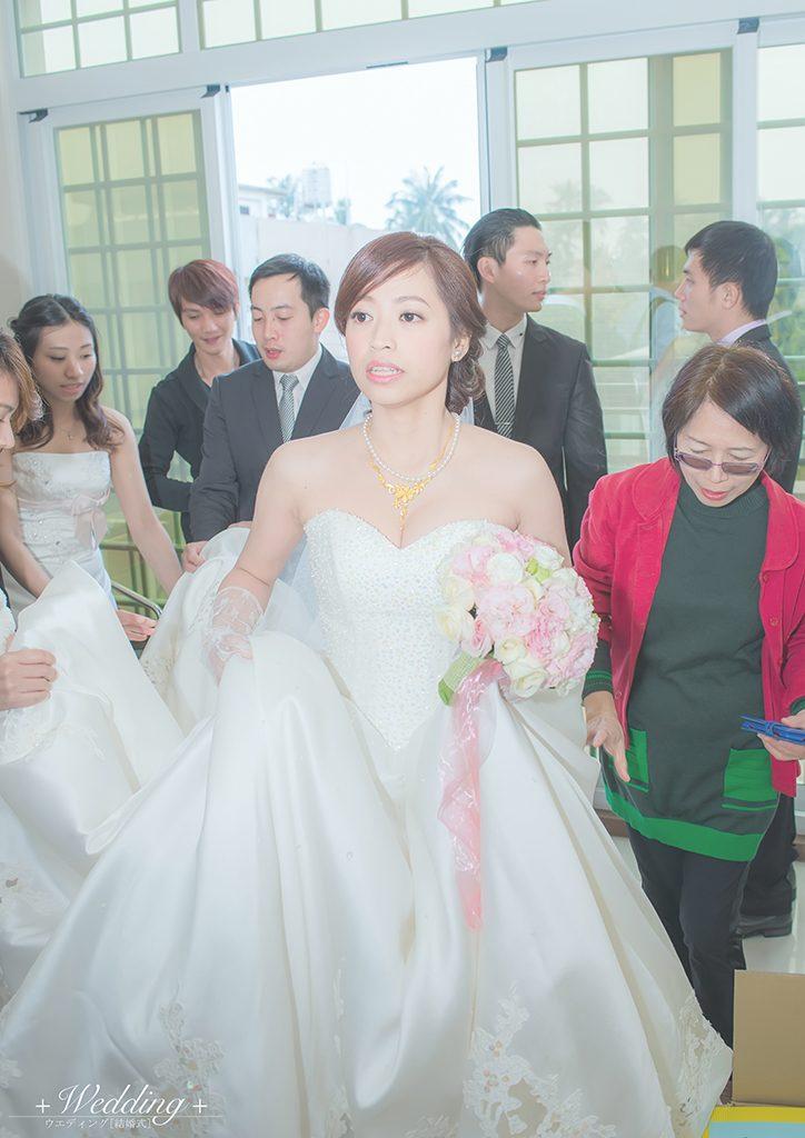 DFP3217 724x1024 - 【婚禮記錄】楷霖&薺萱 屏東 早儀晚宴